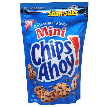 Nabisco Chocolate Chip Cookies Nutrition