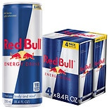Red Bull Energy Drink 4 Pack Cans