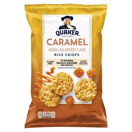 Quaker Quakes Rice Snacks