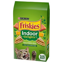 Purina Friskies Dry Cat Food Indoor Delights