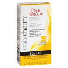 Color Charm Permanent Liquid Haircolor, Light Golden Blonde