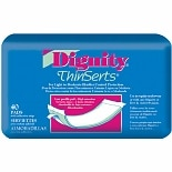 Dignity ThinSerts Pad Moderate Protection (8 - 11 oz.)