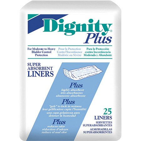 Dignity Plus Super Absorbent Liners Moderate to Heavy Protection (12 - 17 oz.)