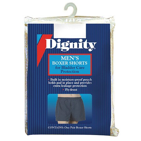 Dignity Men's Boxers with Built-In Protective Pouch XX-Large