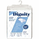 Dignity Washable Quilted Chair Pad & Bedpad Protectors 34 x 36 inch