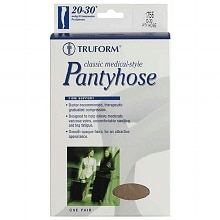 Truform Women's Pantyhose (Firm) 20-30mm Petite