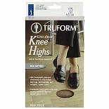 Truform Women's LITES Knee Highs Medium