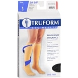 Truform Stocking, Below Knee Closed Toe Style (Firm) 20-30mm, X-Large XL