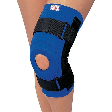 Champion Professional Neoprene Knee Stabilizer with Spiral Stays