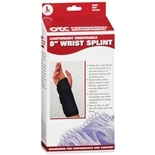 OTC Professional Orthopaedic Lightweight Breathable 8 in. Wrist Splint, Left Large