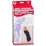 Lightweight Breathable Wrist/Thumb Splint, Left S Black
