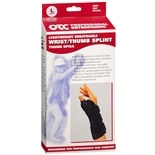 OTC Professional Orthopaedic Lightweight Breathable Wrist/Thumb Splint, LeftLarge