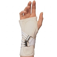 Canvas Cock-Up Wrist Splint, Right 2X-Small