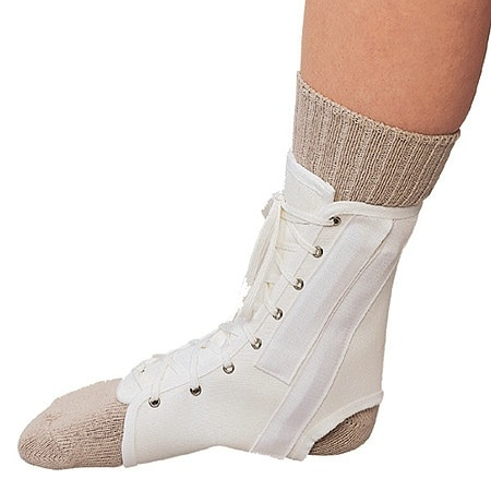 OTC Professional Orthopaedic Canvas Ankle Splint medium