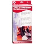 OTC Professional Orthopaedic Ankle Stabilizer with Heel Locking Straps S Black