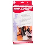 OTC Professional Orthopaedic Ankle Stabilizer w/ Heel Locking Straps, Black Large