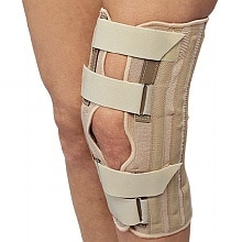 OTC Professional Orthopaedic Knee Support with Front Opening Small