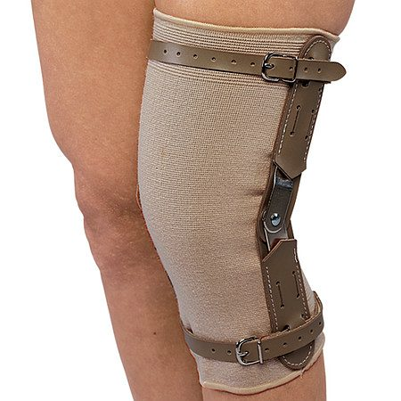 OTC Professional Orthopaedic Knee Brace with Hinged Bars Small