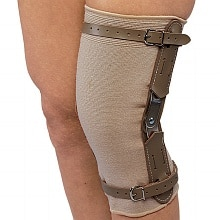 OTC Professional Orthopaedic Knee Brace with Hinged Bars medium