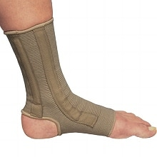 OTC Professional Orthopaedic Ankle Support with Spiral Stays Beige