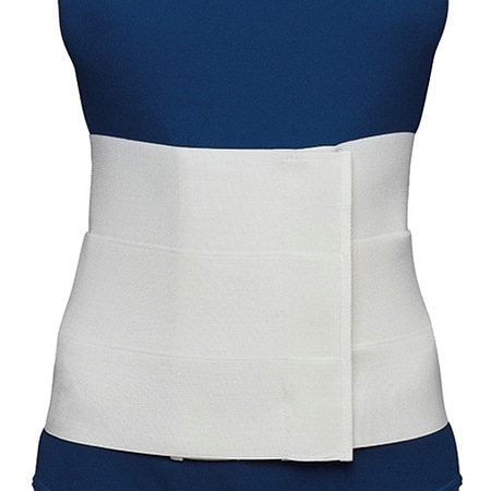 OTC Professional Orthopaedic Three-Panel Elastic Abdominal Binder for Women White