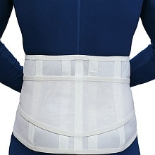 OTC Professional Orthopaedic Lumbosacral Support White