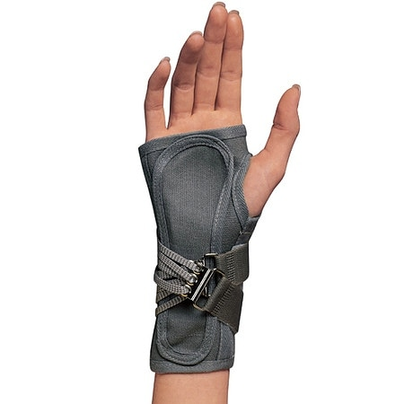 OTC Professional Orthopaedic Cock-Up Wrist Splint Right Gray