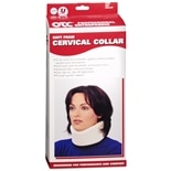OTC Professional Orthopaedic Soft Foam Cervical Collar White Size Universal Narrow