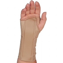 Champion Elastic Wrist Splint, Right X-Small