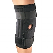 OTC Professional Orthopaedic Knee Stabilizer Wrap with Spiral Stays Small