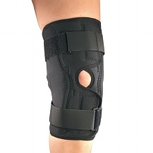 OTC Professional Orthopaedic Knee Stabilizer Wrap with Hinged Bars X-Small