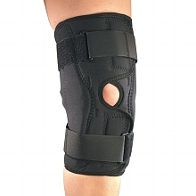OTC Professional Orthopaedic Knee Stabilizer Wrap with Hinged Bars Small