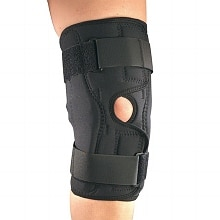 Knee Stabilizer Wrap with Hinged Bars XXX-Large