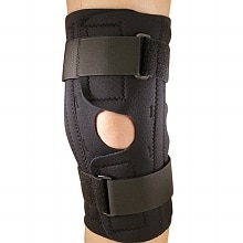 Champion Professional Neoprene Knee Stabilizer Wrap with Spiral Stays Large