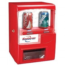 Koolatron Vending Fridge Red