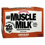 Muscle Milk Protein Nutritional Shakes 12 Pack Chocolate