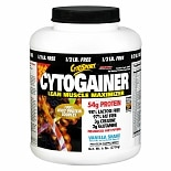 CytoSport CytoGainer Lean Muscle Maximizer Protein Supplement Powder Vanilla Shake