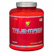 True-Mass Mass Gainer Drink Mix Powder Cookies & Cream