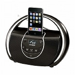Jensen Portable Speaker Docking Station for iPod