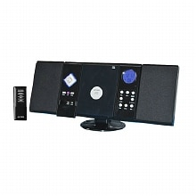 Wall Mountable CD System with AM/FM Stereo Receiver and Remote Control