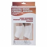 OTC Angora Knee Warmer Medium White
