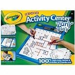 Crayola Dry-Erase Activity Center Zany Play