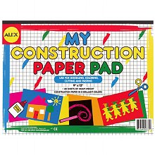Alex My Construction Paper Pad