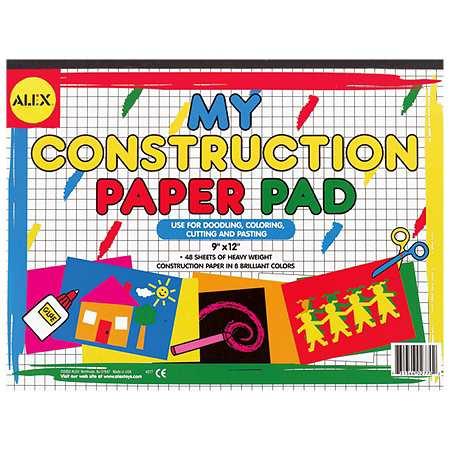 Alex My Construction Paper Pad