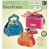 K & Company Paper Purses Kit Bright Cardstock