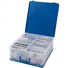 Advantus Cropper Hopper Photo Case Blue