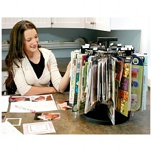 Simply Renee Clip It Up Base Unit Scrapbooking Organizer/Storage Unit