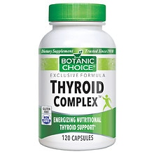 Botanic Choice Thyroid Complex Dietary Supplement Capsules