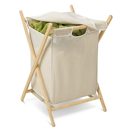 Honey Can Do Wooden Hamper