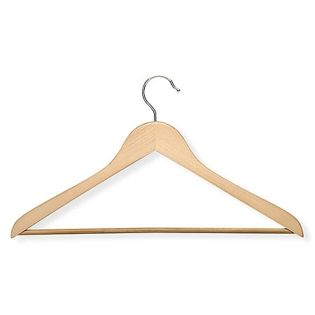 Honey Can Do Maple Wood Hangers, 10pk